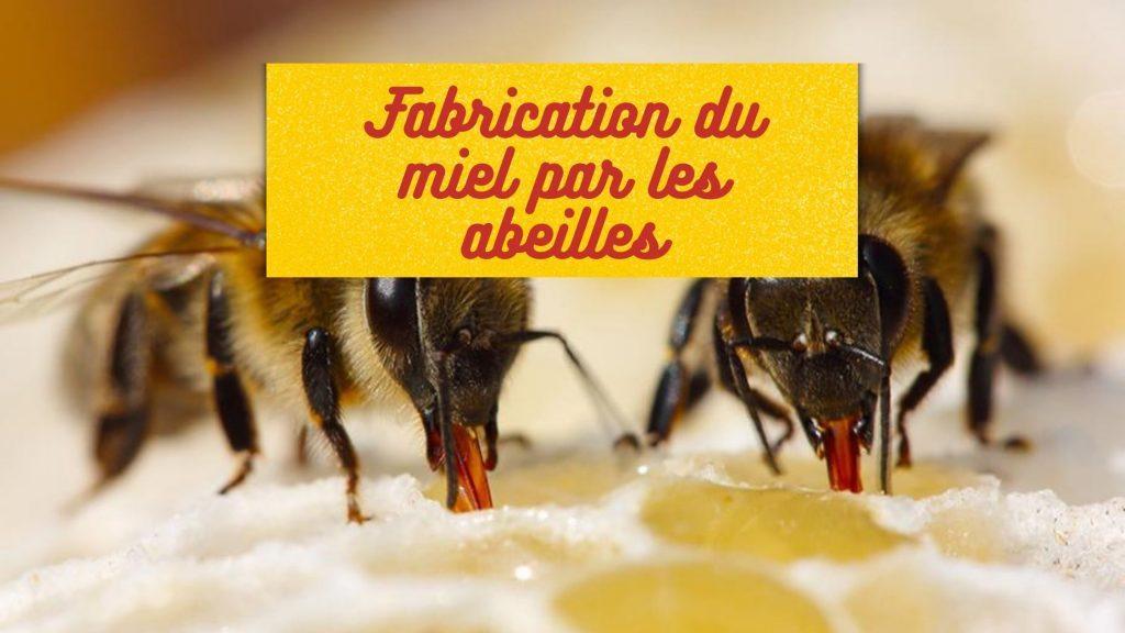 abeille font du miel